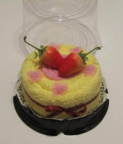 """Полотенце-тортик """"Кремовый торт"""", фото 2"""