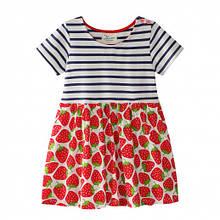 Jumping Meters Платье для девочки Strawberry. Размер  6 лет