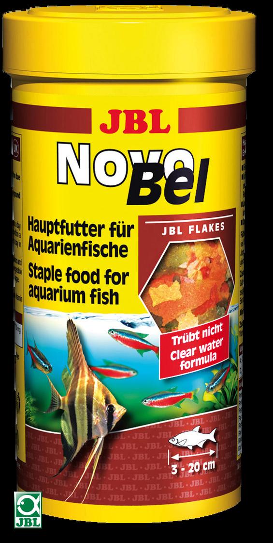 JBL NovoBel Основной корм для аквариумных рыб -           Зоомагазин - Зверушка в Киеве