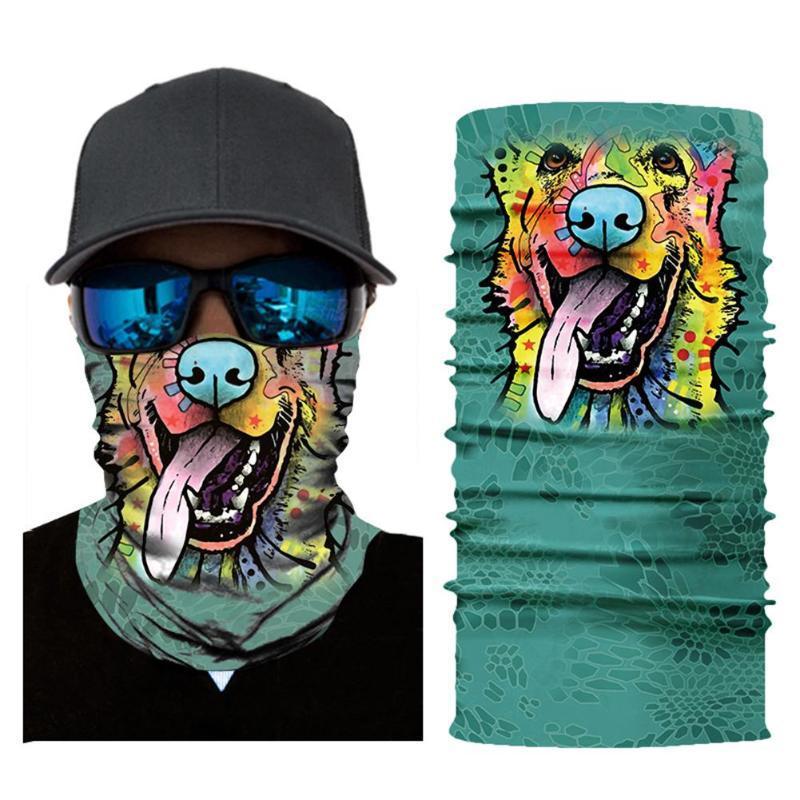 Бафф (маска) для лица с собакой