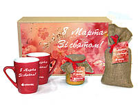 Подарочный набор «НеобыЧАЙный»  – эксклюзивный корпоративный подарок для женщин на 8 марта
