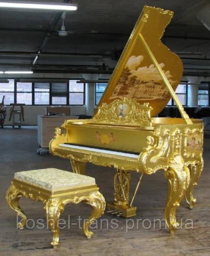 Перевозка пианино в Броварах.