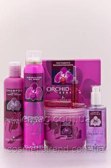 Маска для волос с маслом орхидеи 500 мл Orchid Oil Mask Kleral System Италия , фото 2