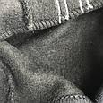 Комбинезон теплый черный. Размер 62, 68, 74, Черный и светло серый. Унисекс, фото 4