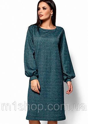 Женское свободное платье из трехнитки (Нино kr), фото 2
