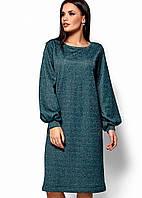 Женское свободное платье из трехнитки (Нино kr)
