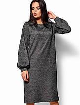 Женское свободное платье из трехнитки (Нино kr), фото 3