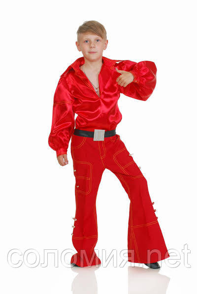 Детский карнавальный костюм для мальчика Трубадур 122-140р
