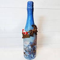 Новогодняя бутылка шампанского Подарки на новый год 2020