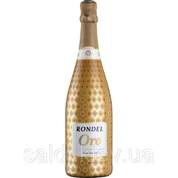 Сava Rondel Вино игристое Oro, 0,75 л