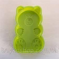 Форма силикон Медведь 25*16*3,5 см