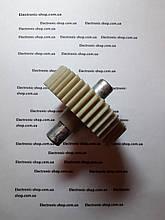 Шестерня Moulinex металлическим валом  тип 1 оригинал б.у