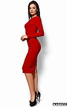 Женское платье-футляр с открытой спиной (Лолаkr), фото 2