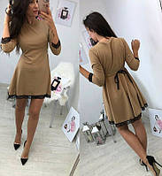 Платье  женское с отделкой кружева  в расцветках 3411, фото 1