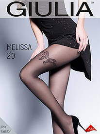 Колготки с имитацией чулок Giulia Melissa