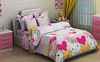 """Комплект постельного белья """"Китти розовый"""", бязь, фото 1"""