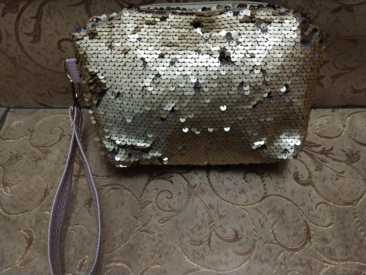 Женские кошельки паетками стильный сделано в Укриана только ОПТ