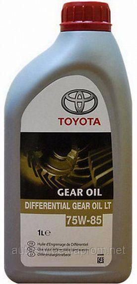 Масло трансмиссионное Toyota Differential Gear Oil LT 75W-85 (0888581060) 1 л.