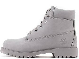 Мужские ботинки Timberland 6-inch Classic Boots 'Black' (Тимберленд) с натуральным мехом