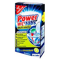 Таблетки для чистки унитаза G&G Power WC-Tabs 16