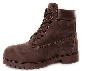Мужские ботинки Timberland 6-inch Classic Boots 'Black' (Тимберленд) с мехом