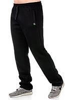 Мужские тёплые штаны черные, фото 1