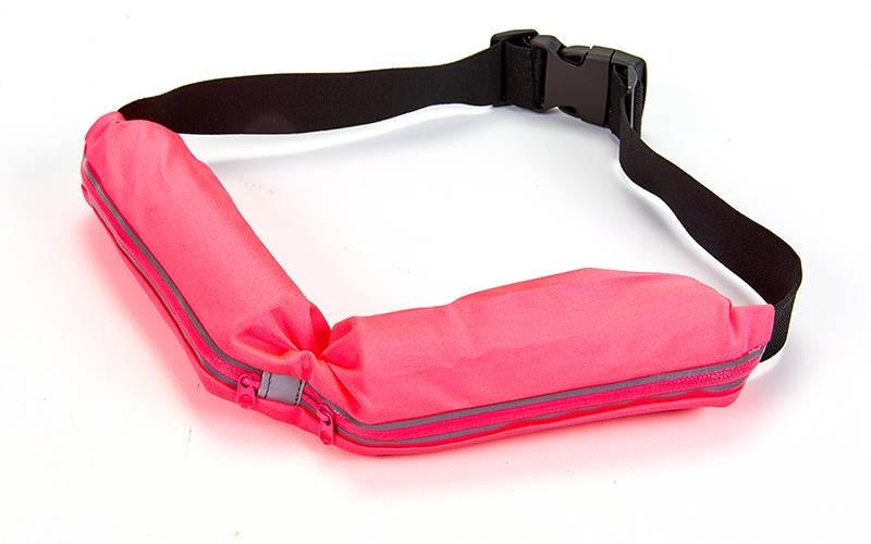 8d11391eda6c Купить Сумка на пояс с двумя отделениями спортивная розовая в ...
