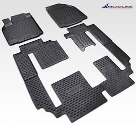 Коврики в салон для Mazda CX-9 2007-2012 2012-> 6 шт NLC.33.16.210k