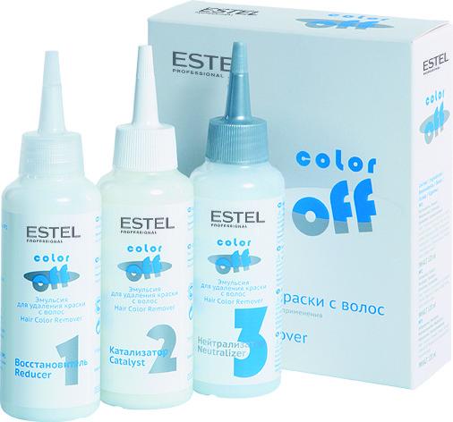 Эмульсия для удаления стойких красок с волос COLOR OFF, 3*120 мл