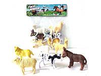 Животные A006 (1358350) (216шт/2) в пакете 17*19см