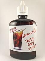 100мл  Жидкость для электронных сигарет TES со вкусом Колы с дозатором в пластиковой ПЭТ таре