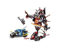 Детский конструктор JVToy 16002 Битва с демоном серия Герои ниндзя, 530 деталей
