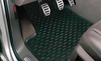 Коврики в салон оригинальные для  Porsche Cayenne 2003-2010, резиновые 4шт 95504480261
