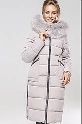 Зимний женский пуховик с натуральным мехом Пелагея Нью вери (Nui Very)