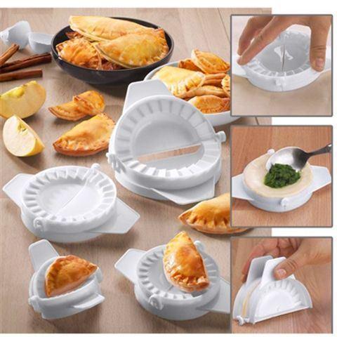 Форма для приготовления вареников, пельменей и чебуреков Form dough (5 шт.)