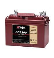 Cтартерный\циклический разряд аккумулятор двойного назначения TROJAN SCS 200(Minn Kota)
