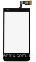 Тачскрин (сенсор) для HTC Desire 300, 301e черный