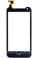Тачскрин (сенсор) для HTC Desire 310, черный, (128*63, 5мм)