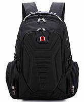 Рюкзак в стиле SwissGear Wenger Черный с дождевиком 35L