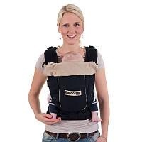 Май-рюкзак HOPPEDIZ BONDOLINO Slim-fit Light Quality Black-Sand
