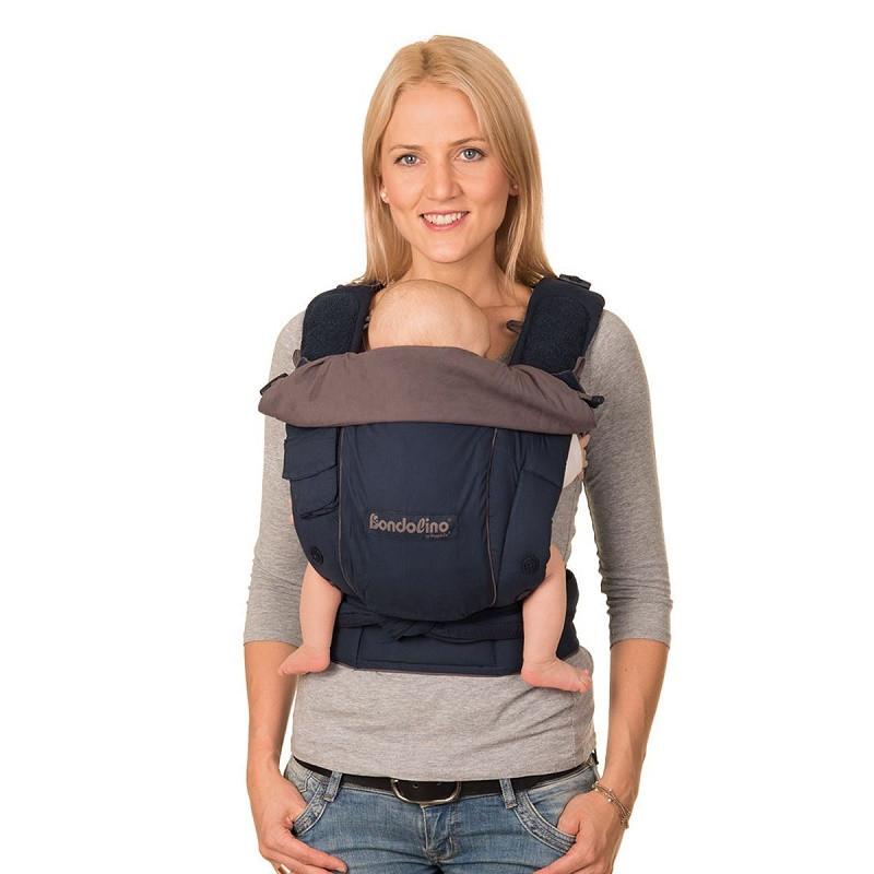 Май-рюкзак HOPPEDIZ BONDOLINO Plus One Size Marine-Grey