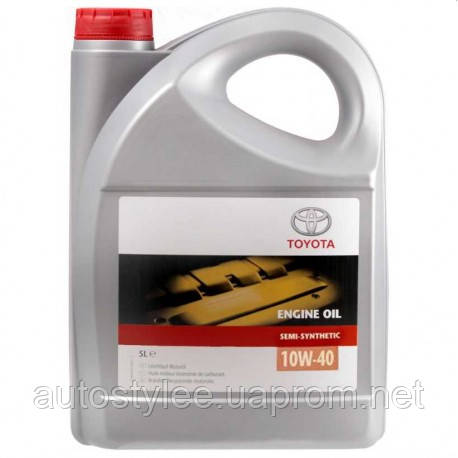 Масло моторное Toyota Semi Synthetic 10W-40 (0888080825) 5 л.