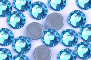 Камни Crystal Stone(HF).Цвет Indocolite ss16(4mm).Цена за 100шт