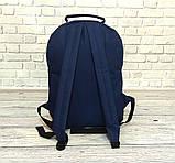 Стильный рюкзак Levi`s, левис, левайс. Повседневный, городской. Синий с черным Vsem, фото 4