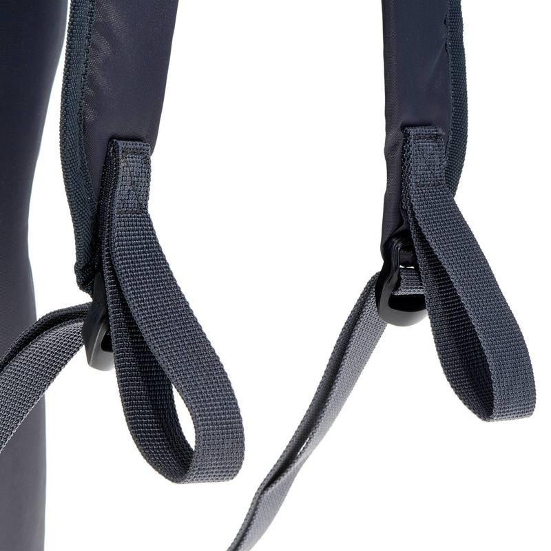 Спортивный рюкзак QUECHUA 10L, черный, фото 4