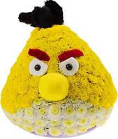 Оригинальный подарок игрушка из цветов Angry Birds (энгри бердс)