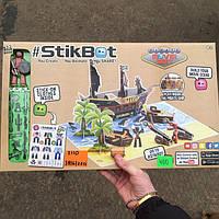Набор Stikbot Pirate Movie Set Стикбот Пират Остров сокровищ студия для анимационного творчества, фото 1