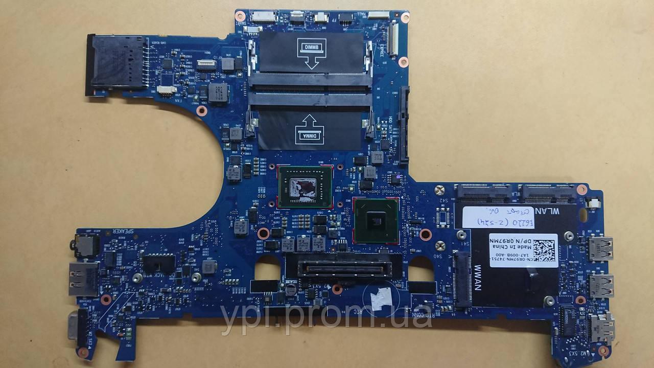 Материнская плата к ноутбуку Dell Latitude E6220, VIDA-6050A2428801-MB-A01, Rev: 3.10, б/у
