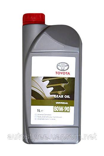 Масло трансмиссионное Toyota Universal 80W-90 (0888580616) 1 л.