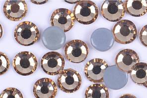Камни Crystal Stone(HF).Цвет Lt.Col.Topaz ss16(4mm).Цена за 100шт